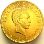 Куба 20 песо 1915 г., фото №2