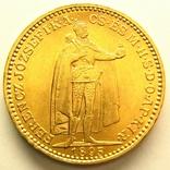 Австро-Венгрия 20 крон 1895 г., фото №3