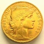 Франция 20 франков 1907 г., фото №2