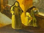 """""""В монастыре"""",19 век,х/м, фото №5"""