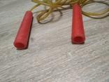 Скакалка, длина от кончика ручки до другого кончика  244 см., фото №3