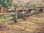 Verner Trokner,Pont Neuf Paris, фото №5