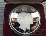 Ямайка 25 долларов 1981 г. Серебро. Вес: 136.00 г. Коробка., фото №2