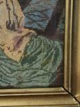 Картина - вышивка. Влюбленные, фото №5