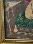 Картина - вышивка. Влюбленные, фото №6
