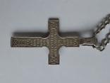 Цепочка с хрестиком, серебро, 16.31 г., фото №4