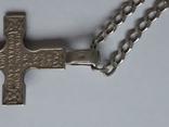 Цепочка с хрестиком, серебро, 16.31 г., фото №7