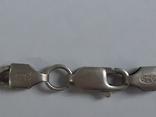 Цепочка с хрестиком, серебро, 16.31 г., фото №8