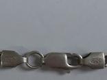 Цепочка с хрестиком, серебро, 16.31 г., фото №9
