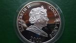 1 доллар 2001 о-ва Кука Футбол Нидерланды серебро (2.3.3)~, фото №5