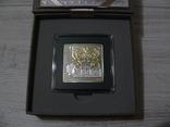 ШЕДЕВРЫ РЕНЕССАНСА - РОЖДЕНИЕ ВЕНЕРЫ - серебро, позолота - ПОЛНЫЙ КОМПЛЕКТ. РЕДКАЯ, фото №4