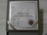 ШЕДЕВРЫ РЕНЕССАНСА - РОЖДЕНИЕ ВЕНЕРЫ - серебро, позолота - ПОЛНЫЙ КОМПЛЕКТ. РЕДКАЯ, фото №5