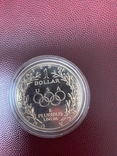 "Срібло 1 доллар 1988 ""XXIV летние Олимпийские Игры, Сеул 1988"" (США) S, фото №4"