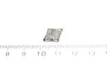 Заготовка-вставка з метеорита Seymchan, 1,5 г, із сертифікатом автентичності, фото №4