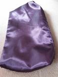 Сиреневая косметичка расшитая пайетками Baylis&Harding. Новая, фото №5