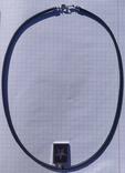 Фирменный кулон с эмалью и бриллиантами., фото №3