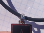 Фирменный кулон с эмалью и бриллиантами., фото №6
