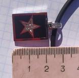 Фирменный кулон с эмалью и бриллиантами., фото №8