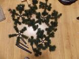 Новорічна штучна ялинка, фото №2