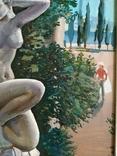 Харьковская школа.Александр Сердюков.Пейзаж 1994г.Картон,масло 38х55 ,в раме 44Х61., фото №8