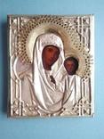 Икона Божией Матери в кованом окладе, фото №2
