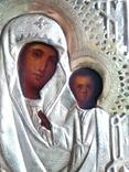 Икона Божией Матери в кованом окладе, фото №3