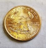 5 долларов 2003 г. 1/10 oz., фото №3