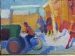 Картина Зима в деревне, фото №6