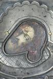 Серебрянная икона Иоанна Предтечи, фото №3