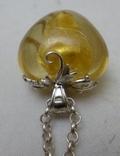 Подвеска на цепочке серебро 925., фото №7