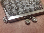 Театральная сумочка с бисером и камнями Unze на реставрацию + бонус, фото №3