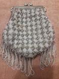 Театральная сумочка с бисером и камнями Unze на реставрацию + бонус, фото №5