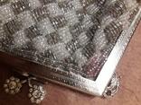 Театральная сумочка с бисером и камнями Unze на реставрацию + бонус, фото №12