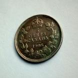 Канада 5 центов 1906 г. - Эдуард VII, фото №7
