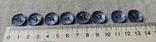 Серебренные пуговици 8шт. 835пр., фото №5