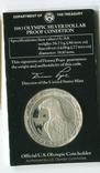 США 1 доллар 1984 XXIII Летние Олимпийские игры 1983 года в Лос-Анжелесе. Монетный двор S, фото №3