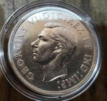 Канада 1 доллар 1939 г Серебро. Королевский визит, фото №3