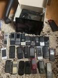 Лот телеофни кнопочні 23 шт + 2 планшети, фото №2