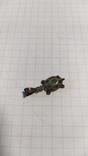 Серебренная подвеска черепаха., фото №3