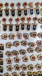 Спортивные знаки, 323 штуки., фото №4
