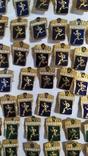 Спортивные знаки, 323 штуки., фото №7
