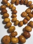 Янтарные бусы, фото №2