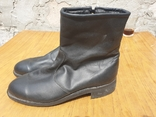 Хромовые ботинки на меху 42р, фото №2