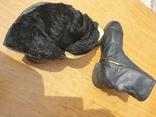 Хромовые ботинки на меху 42р, фото №9
