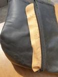 Хромовые ботинки на меху 42р, фото №10