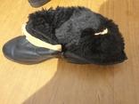Хромовые ботинки на меху 42р, фото №11