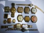 15 Часы СССР в позолоте Ау, Au, фото №3