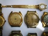 15 Часы СССР в позолоте Ау, Au, фото №5