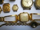 15 Часы СССР в позолоте Ау, Au, фото №8