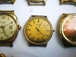 15 Часы СССР в позолоте Ау, Au, фото №11